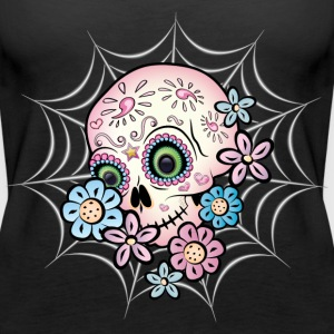 Sweet Sugar Skull Tops - Women's Premium Tank Top