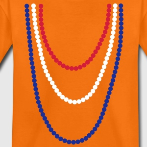 Koninginnedag parelketting  Kinder shirts - Teenager Premium T-shirt