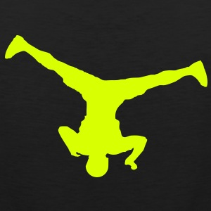 Breakdancer (spin) (Vector) - Männer Premium Tank Top