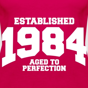 aged to perfection established 1984 (sv) Toppar - Premiumtanktopp dam
