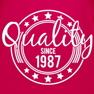 Birthday - Quality since 1987 (nl) Tops - Vrouwen Premium tank top