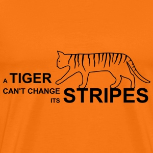 tiger stripes T-Shirts - Männer Premium T-Shirt