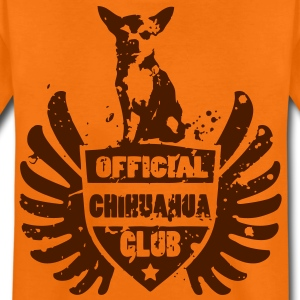 OFFICIAL CHIHUAHUA CLUB Børne T-shirts - Teenager premium T-shirt