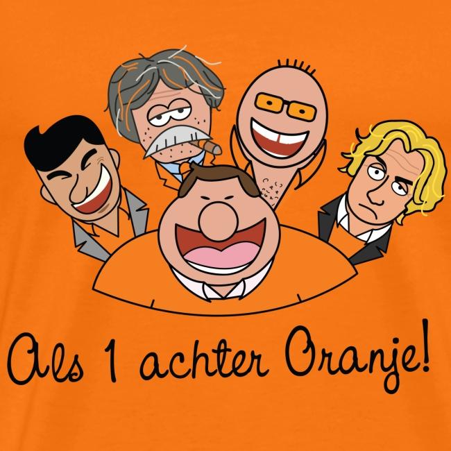 Als 1 achter oranje