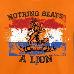 Dutch football orange lion championship national flag Kids' Shirts - Kids' Premium T-Shirt