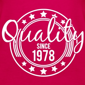 Birthday - Quality since 1978 Tops - Vrouwen Premium tank top