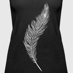 Feather Tops - Frauen Premium Tank Top