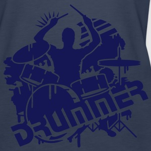 A DRUMMER ON HIS DRUMS Tops - Women's Premium Tank Top