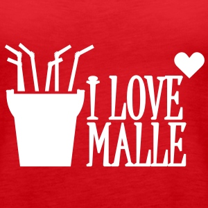 I love Malle (1c) Tops - Women's Premium Tank Top