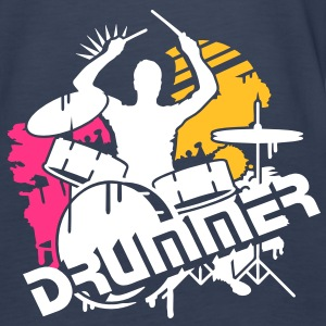 A drummer and his drums Tops - Women's Premium Tank Top