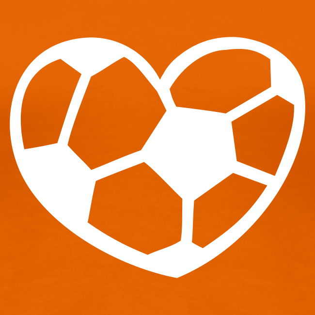 Lady loves voetbal!