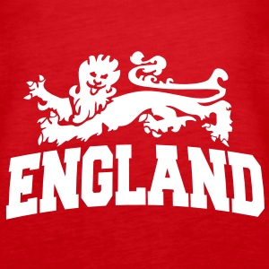 england with lion Tops - Frauen Premium Tank Top