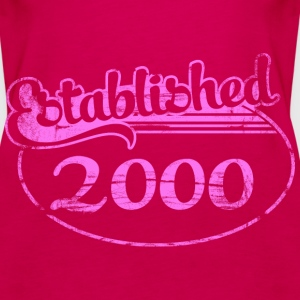 established_2000_dd (es) Tops - Camiseta de tirantes premium mujer