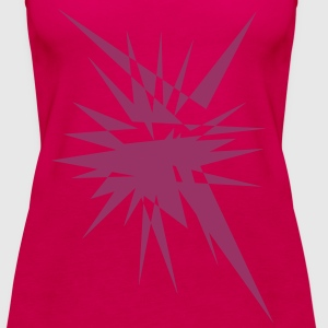 Explosion and rays Tops - Women's Premium Tank Top