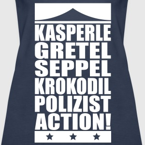 Kasperle-Action Tops - Frauen Premium Tank Top