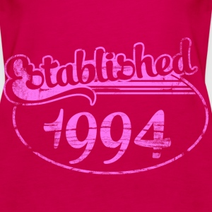 established 1994 dd (es) Tops - Camiseta de tirantes premium mujer