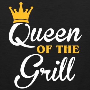Queen of the Grill Magliette - Canotta premium da uomo