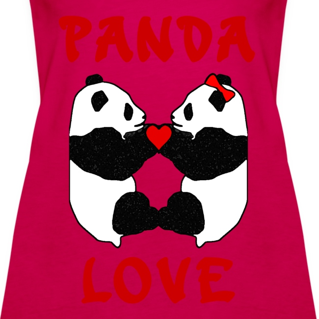 Panda Love Womens Strappy