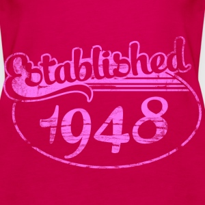 Geburtstag - established 1948 dd (de) Tops - Frauen Premium Tank Top