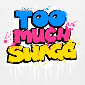 TOO MUCH SWAGG graffiti T-Shirts - Männer Premium Tank Top