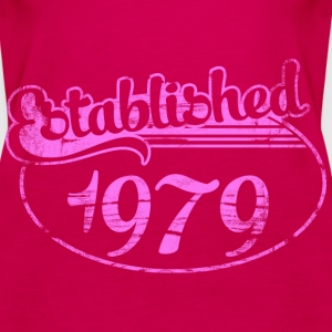 established 1979 dd (es) Tops - Camiseta de tirantes premium mujer