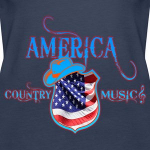 america country music Tops - Women's Premium Tank Top