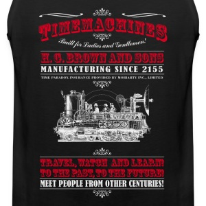 Timemachines (f. dunkle Produkte) T-shirts - Herre Premium tanktop