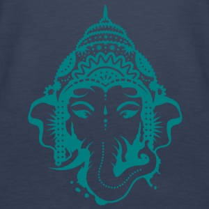 A portrait of the elephant god Ganesha Tops - Women's Premium Tank Top