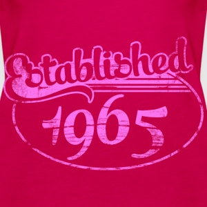 established 1965 dd (es) Tops - Camiseta de tirantes premium mujer