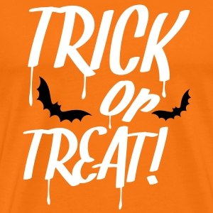 trick_or_treat_2c T-skjorter - Premium T-skjorte for menn