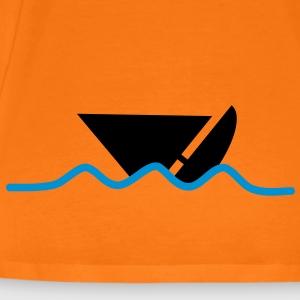 distress_boat T-shirts - Herre premium T-shirt