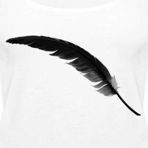 feather3 Tops - Camiseta de tirantes premium mujer