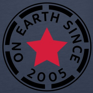 on earth since 2005 (no) Topper - Premium singlet for kvinner