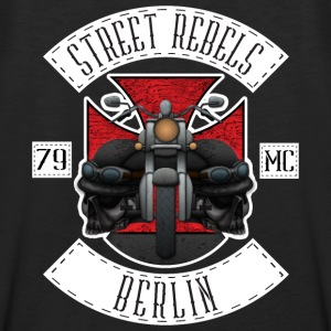 Street Rebels Berlin MC Rockerkutte by Individual  - Männer Premium Tank Top