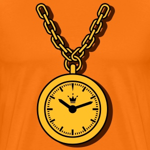 clock, chain T-shirts - Mannen Premium T-shirt