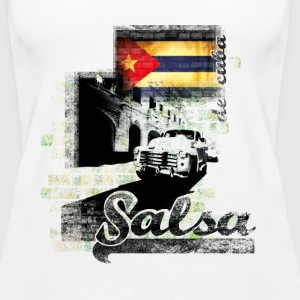salsa your live  - Frauen Premium Tank Top