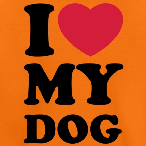 I love my dog Shirts - Kids' Premium T-Shirt