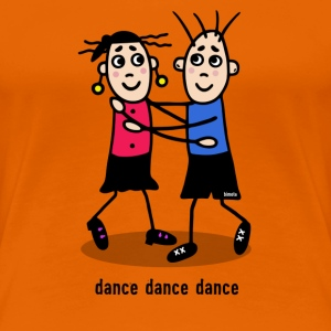 dance dance dance - couple T-Shirts - Women's Premium T-Shirt