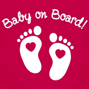 baby on board Topper - Premium singlet for kvinner