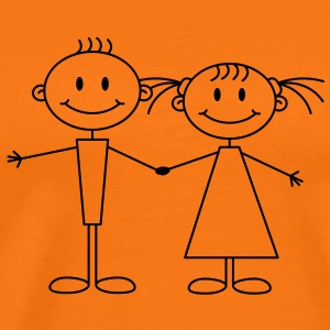 girl_and_boy T-Shirts - Männer Premium T-Shirt
