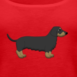 Dachshund 2 Tops - Women's Premium Tank Top
