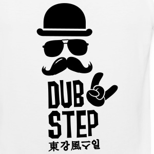 Like a dubstep dance music moustache boss T-shirts - Mannen Premium tank top