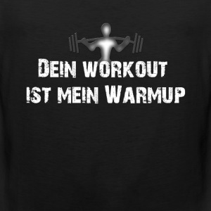 Workout T-Shirts - Männer Premium Tank Top