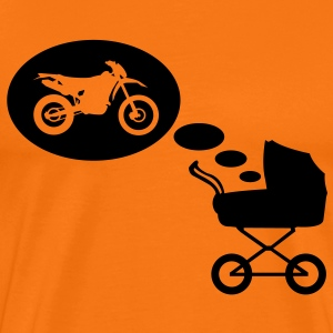 Stroller dream Enduro  T-Shirts - Men's Premium T-Shirt