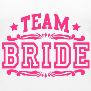 team bride Tops - Women's Premium Tank Top