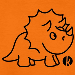 Dinosaurier Triceratops  T-Shirts - Kinder Premium T-Shirt