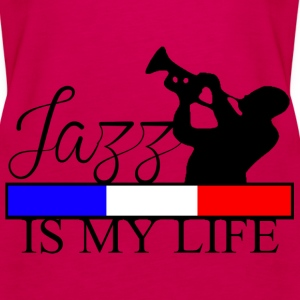 jazz is my life Tops - Women's Premium Tank Top