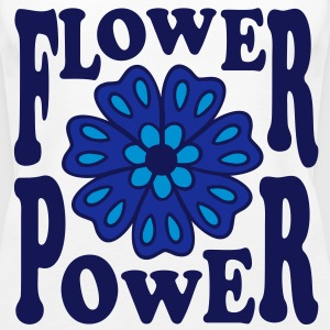 Flower Power Blumen Retro Style 70s Look T-Shirts - Frauen Premium Tank Top