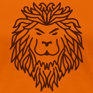 Lion - Tribal T-Shirts - Women's Premium T-Shirt