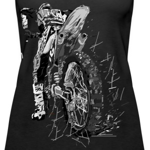 Motor cross Tops - Vrouwen Premium tank top